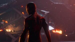 PlayStation Spider Man Marvel Comics 3840x2160 Wallpaper