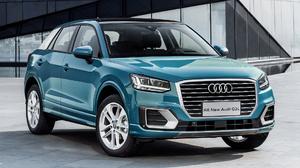 Audi Q2l 35 Tfsi Blue Car Car Crossover Car Luxury Car Suv Subcompact Car 1920x1080 Wallpaper