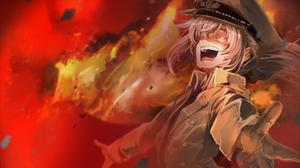 Tanya Degurechaff Youjo Senki War Military Uniform Anime 1920x1080 Wallpaper