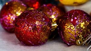 Christmas Ornaments Bauble 6000x4000 Wallpaper