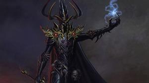 Demon Magic Warrior Dark Elf Malekith Warhammer 1920x1080 Wallpaper