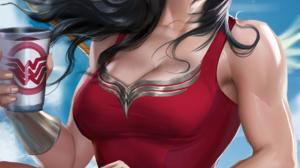 Sakimichan Realistic Wonder Woman DC Comics 1163x1700 Wallpaper