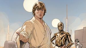 Luke Skywalker C 3po 1920x1080 Wallpaper