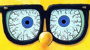 Funny Glasses Humor Spongebob Squarepants 1920x1080 Wallpaper