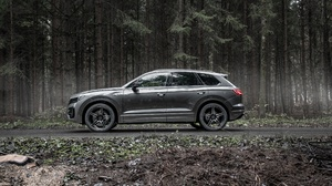 Car Luxury Car Suv Silver Car Vehicle Volkswagen Volkswagen Touareg R Line 3543x2363 Wallpaper