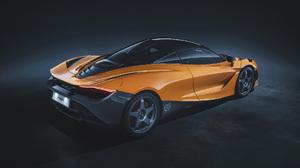 Car Mclaren Mclaren 720s Orange Car Sport Car Supercar 1920x1080 wallpaper