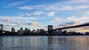 Brooklyn Bridge Manhattan Bridge East River New York City Bridge Brooklyn 3840x2160 Wallpaper