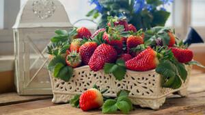 Food Fruit Berries Strawberries 1920x1080 Wallpaper