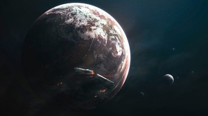 Artwork Space Planet RimWorld Video Games 1920x1200 Wallpaper