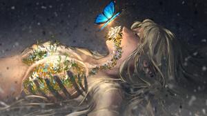 Artwork Women Butterfly Yuumei 1920x1280 Wallpaper