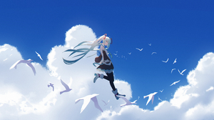 Hatsune Miku 3666x2000 wallpaper