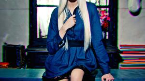 Alena Shishkova Women Model Russian Blue Eyes Long Hair Red Lipstick Blonde Alena 1536x2048 wallpaper