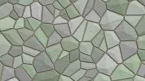 Green Grey Mosaic Pattern Texture 3000x2000 Wallpaper