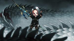 Lalafell Final Fantasy 4000x2505 wallpaper