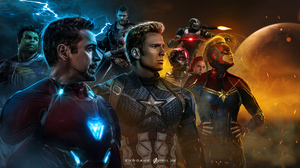 Ant Man Black Widow Captain America Captain Marvel Hulk Iron Man Thor War Machine 1920x1080 wallpaper