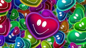 Colors Heart Love Smile 6000x4000 Wallpaper