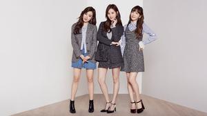 SNSD Tiffany SNSD Seohyun SNSD Taeyeon Girls Generation K Pop SNSD 4599x2587 Wallpaper