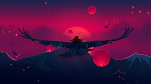 Fantasy Bird 2560x1600 wallpaper