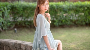 Woman Model Girl Redhead Long Hair 2048x1365 Wallpaper
