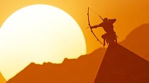 Shadow Bayek Of Siwa Sun 3824x1653 wallpaper