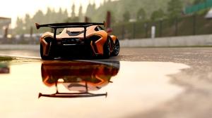Car Mclaren Mclaren P1 Orange Car Reflection Sport Car Supercar Vehicle 3840x2160 Wallpaper