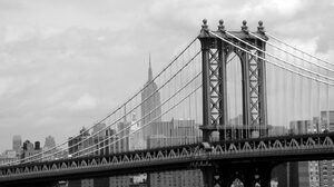 Man Made Manhattan Bridge 1440x900 Wallpaper