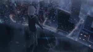 Anime Girl 2500x1276 Wallpaper