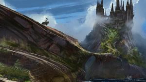 Landscape Knight 4844x2498 Wallpaper