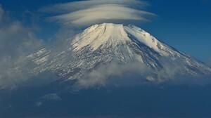 Close Up Cloud Japan Mount Fuji Mountain Volcano 2048x1440 Wallpaper