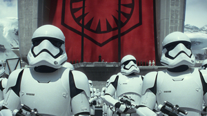 Star Wars Star Wars Episode Vii The Force Awakens Stormtrooper 3154x1321 Wallpaper