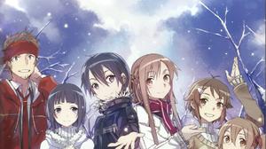 Anime Novel Sword Art Online Winter 1198x1640 Wallpaper