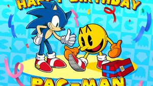 Crossover Pac Man Smile Sneakers Sonic Channel Sonic The Hedgehog 2048x1448 Wallpaper