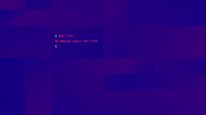 Unix Abstract Rectangle Violet Humor Computer Minimalism Bash Shell Terminals 2500x1562 Wallpaper
