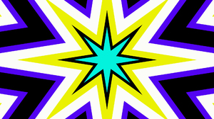 Abstract Artistic Colors Digital Art Kaleidoscope Pattern Shapes Star 1920x1080 Wallpaper