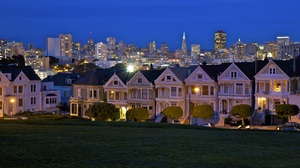 San Francisco The Painted Ladies 2560x1600 Wallpaper