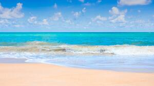 Beach Horizon Ocean 5942x3961 Wallpaper