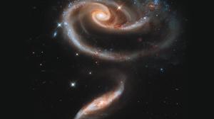 Galaxy Nasa 7422x4175 Wallpaper