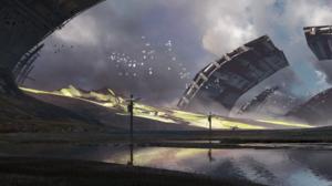 Sci Fi Post Apocalyptic 4000x1212 wallpaper