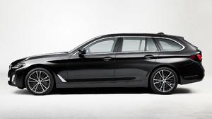 Bmw 530i Touring M Performance Black Car Car Luxury Car Station Wagon 1920x1080 Wallpaper