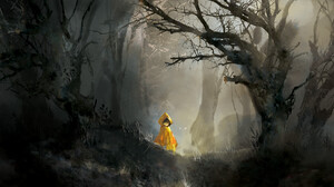 Little Nightmares Trees Creepy Forest 1920x1123 Wallpaper