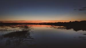 Nature Outdoors Evening River 3840x2160 Wallpaper