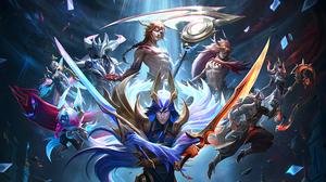 League Of Legends 4K Riot Games Yone League Of Legends Kayn League Of Legends Vex League Of Legends  3840x2160 Wallpaper