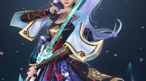 Jian Zhao Artwork Genshin Impact Anime Girls Anime Anime Games Video Games Video Game Girls Fantasy  1920x2452 Wallpaper