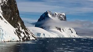 Sea Glacier Ice Snow Landscape Antarctica 5477x3651 Wallpaper