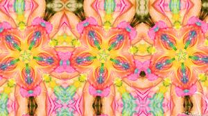 Colors Digital Art Kaleidoscope Pattern Symmetry 1920x1080 Wallpaper