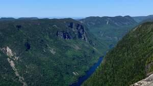 Nature River Quebec Summit 3024x4032 Wallpaper