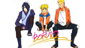 Naruto Naruto Uzumaki Boruto Uzumaki Sasuke Uchiha 1920x1200 Wallpaper