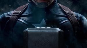 Avengers Endgame Captain America Chris Evans Mjolnir Steve Rogers 3840x2160 Wallpaper