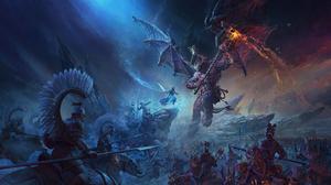 Total War WARHAMMER Iii Video Games Video Game Art Digital Art Demon Ice Queen Crown Games Workshop  3480x2160 Wallpaper