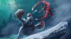 Irelia League Of Legends Nunu League Of Legends 2880x1800 Wallpaper